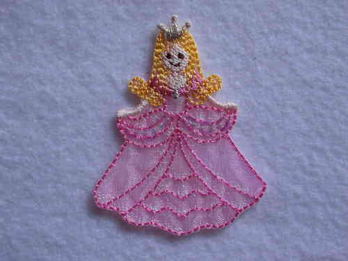 Applikation Prinzessin 5,8 x 4,6cm